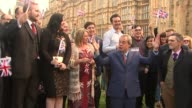 ProBrexit donation at centre of transparent funding row T24061621 / R24061604 / TX Westminster EXT Nigel Farage MEP addressing supporters on College...