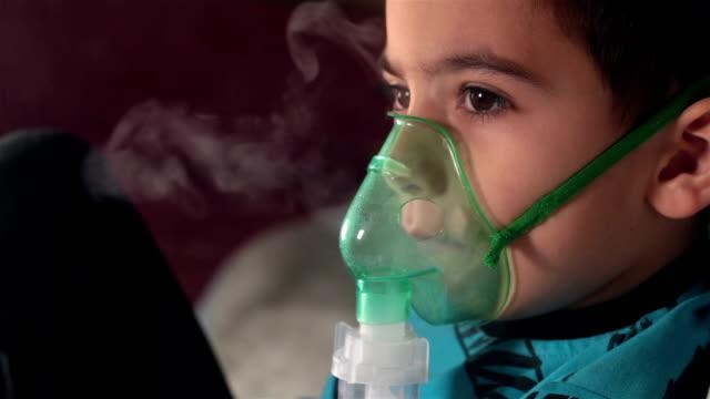 Procedure Inhalation of child