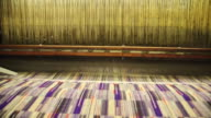CU PAN Process of manufacturing textile at Camira Fabrics Moquette Factory / Lithuania