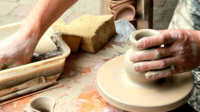 process of pottery