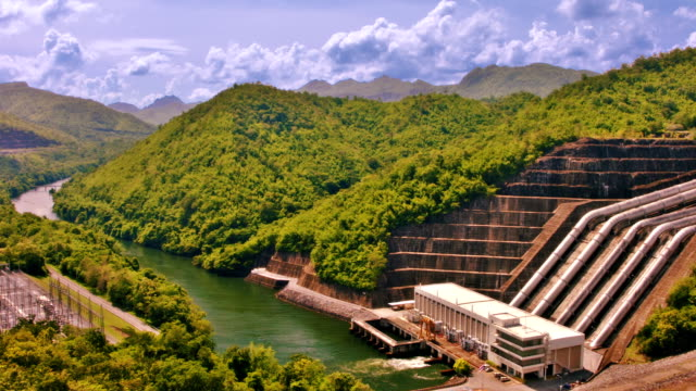 produce hydroelectric power