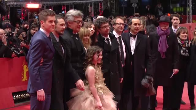 Producer Gian Piero Ringel actresses Charlotte Gainsbourg Marie Josee Croze Lilah Fitzgerald director Wim Wenders and his wife Donata Wenders and...