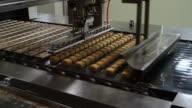 Production line pineapple pie
