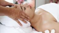 Professional Facial Massage.