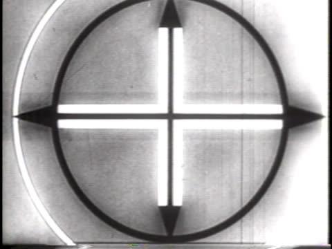 Professional Film Countdown Leader (1930s /1940s era)