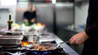 Cucina professionale del ristorante o dell'hotel