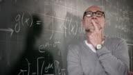 Professor thinking
