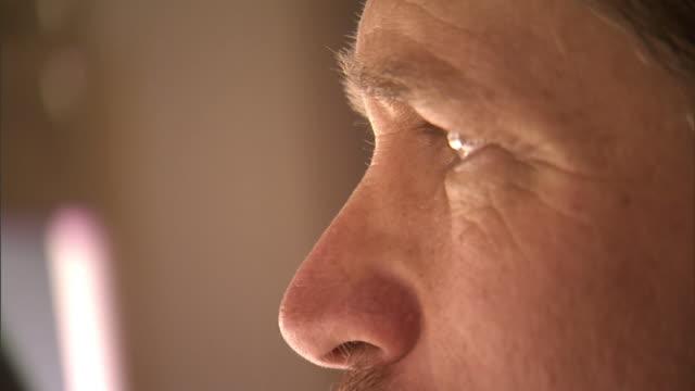 ECU, FOCUSING, Profile of mature man