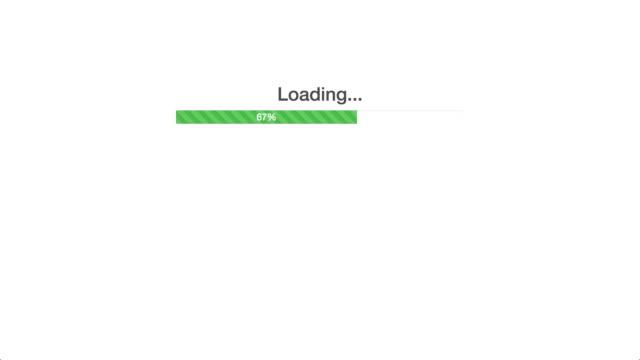 Progress Bar in a Web Application