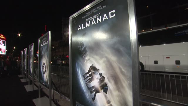 ATMOSPHERE 'Project Almanac' Los Angeles Premiere at TCL Chinese Theatre on January 27 2015 in Hollywood California
