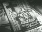 Propaganda antiSemitic posters leaflets cards antiChristian pamphlet cover targeting Roman Catholic church Jewish antiCatholic