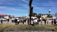 Protest for higher wages for fast food workers