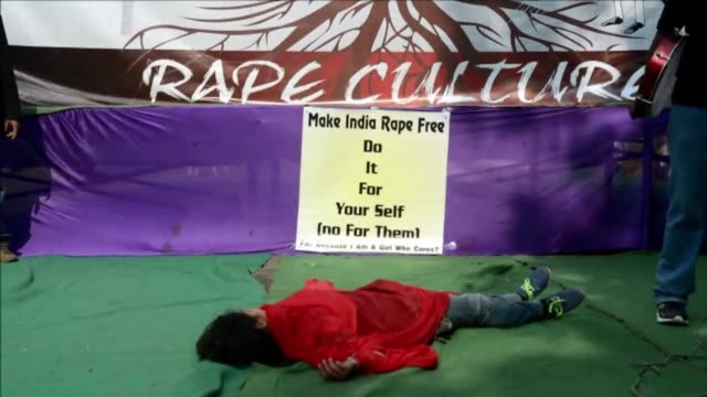 Protesters demand improved safety for women on the second anniversary of the fatal gang rape of a student in New Delhi