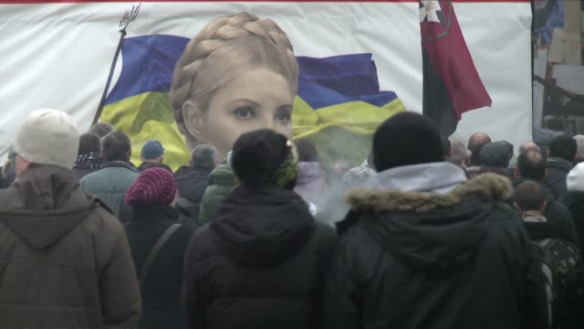 Protesters occupying Kiev city hall said Saturday they stood ready to vacate the premises in a gesture of goodwill after authorities released all...