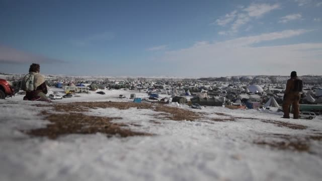 Protesters opposing a North Dakota oil pipeline project continue to flock to the Standing Rock Indian reservation to support the fight of Native...