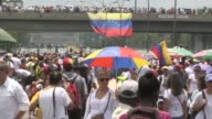 Protesters rallied Monday vowing to block Venezuela's main roads to raise pressure on President Nicolas Maduro after three weeks of deadly unrest...