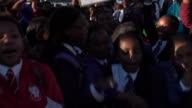 Protests against South African President Jacob Zuma in Cape Town