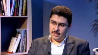Protests as Arab League observers visit Homs ENGLAND London INT Obaida Nahas interview SOT