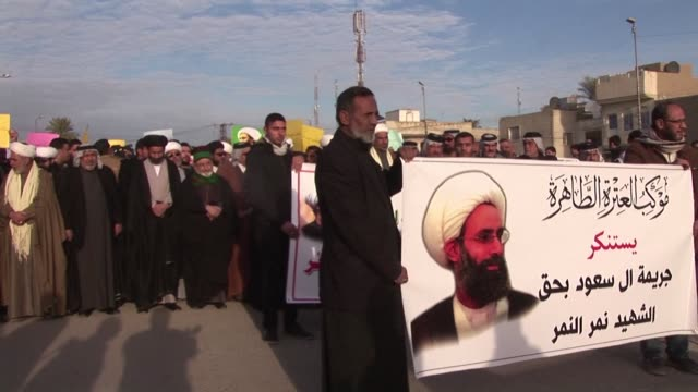 Protests in Iran spread to Bahrain Pakistan and Iraq against Saudi Arabias decision to execute a a Shiite cleric