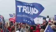 ProTrump march in Huntington Beach California