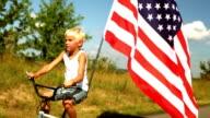 Stolz amerikanischer ride