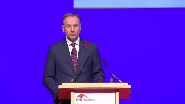 Jeremy Hunt and Simon Stevens speeches Simon Stevens speech SOT re preparations of NHS for winter / hospital beds / answering criticisms of the NHS /...