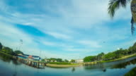 Öffentlicher park in Chonburi, Thailand