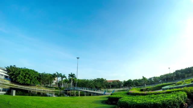 Public park in Chonburi, Thailand
