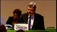 """Unison call to support strike action Prentis speech So Danny I say """"if your intervention last week was designed to enrage our members and increase..."""