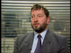 Public sector strikes over Government proposals to limit scope for Unions to strike ITN CMS David Blunkett MP intvwd SOT this has nothing to do with...