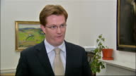 Interviews with Treasury Chief Secretary and Shadow Chancellor ENGLAND London Westminster INT Danny Alexander MP interview SOT When we came into...