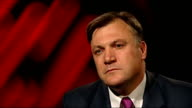 Interviews with Treasury Chief Secretary and Shadow Chancellor Ed Balls MP interview SOT A year ago the Chancellor said if you had the biggest cuts...