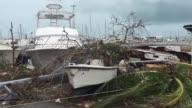 Puerto Rico faces dangerous flooding and an island wide power outage after Hurricane Maria swept across the island People have begun working to clean...