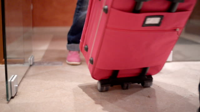 Puling luggage