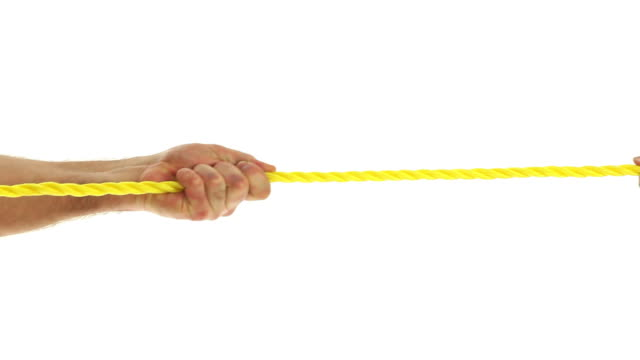 Pulling a rope