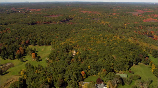 Punkatasset Hill  - Aerial View - Massachusetts,  Middlesex County,  United States