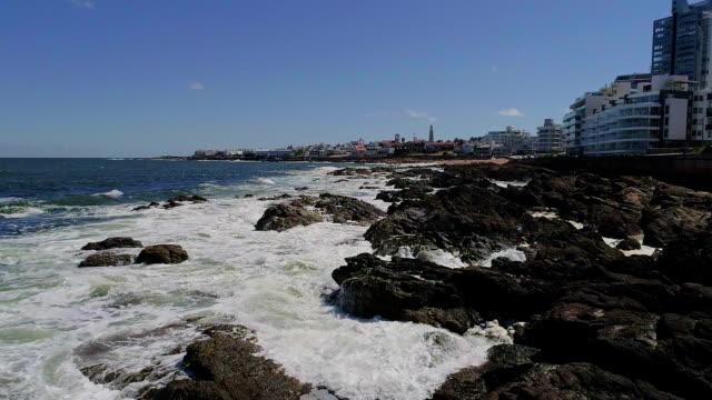 Punta del Este coastline, Uruguay