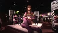 puppet 'Little Marina' at the Missoni for Target Private Launch Event at New York NY