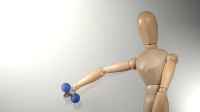 Puppentheater-Figur machen Übungen