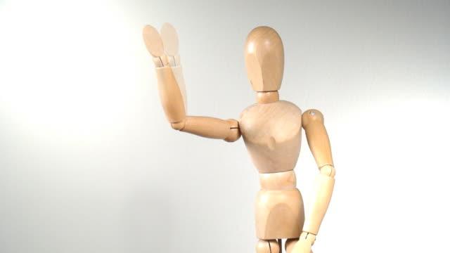 Puppentheater-Figur stop-motion-animation