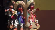 Puppets For Sale in Mexican Market