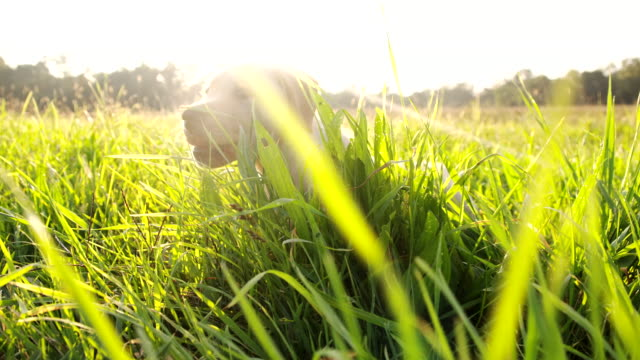 LA CU Puppy In The Grass