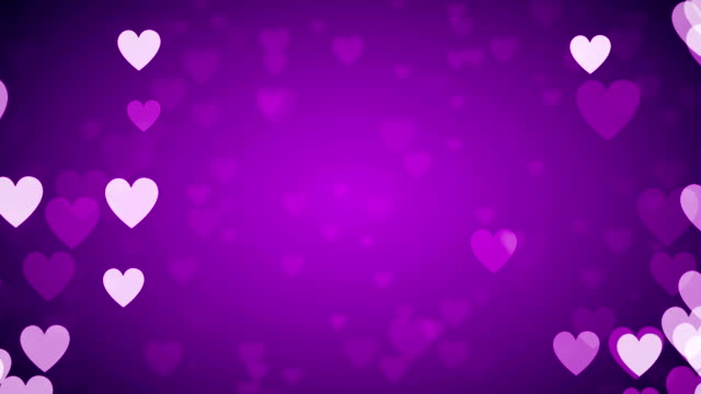 Purple Heart Background Stock Footage Video | Getty Images