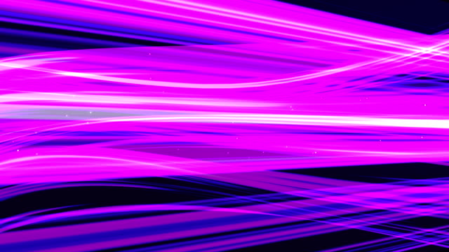Paarse lichte strepen abstract achtergrondanimatie