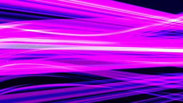 Purple light streaks abstract background animation