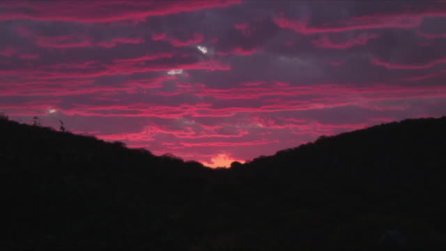 WS ZO Purple sunset / Khorixas, Namibia