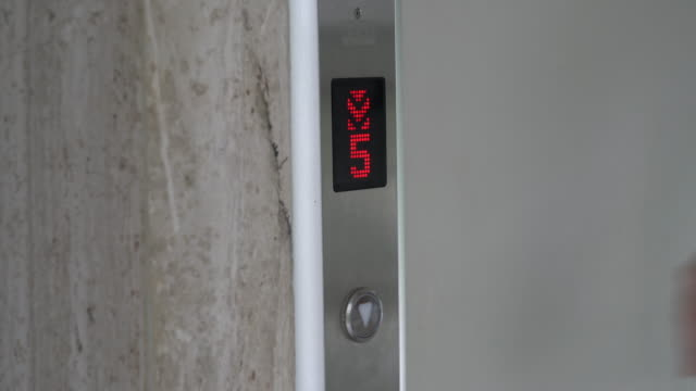 push elevator button