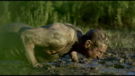 Pushups in the Mud