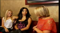 Pussycat Dolls release new single ENGLAND London INT Pussycat Dolls on sofa with Sylvester interview SOT We are always having fun we try not to look...