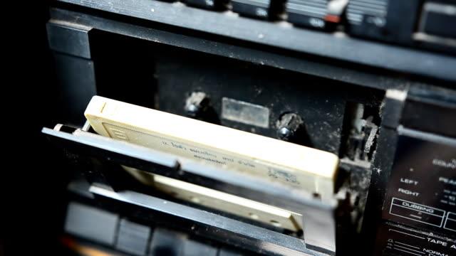 put Tape recorder